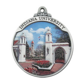 Custom Pewter Full Size 3D Gallery Print Ornament with 3D