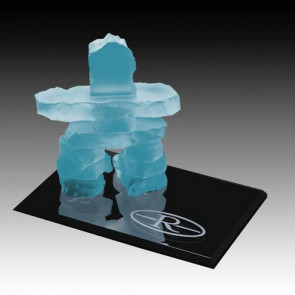 Inukshuk on Ebony - Frosted 2.5 in.