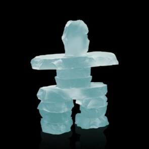 Inukshuk - Frosted 13 1/2 in