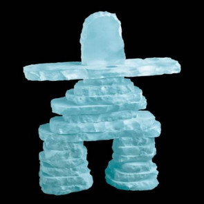 Inukshuk - Frosted 15 in