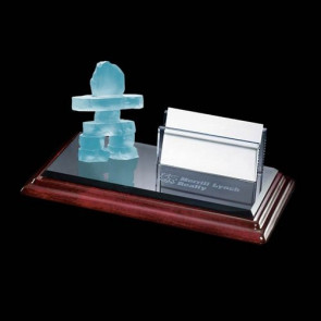 Inukshuk Business Card Holder - Albion Base
