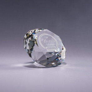 Diamond Paperweight - Clear