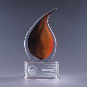 Flare Art Glass Recognition Award - SM
