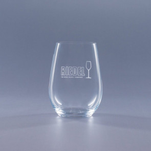 Riedel O Stemless Riesling/Sauvignon Blanc Engraved Wine Tumbler 13.25oz.