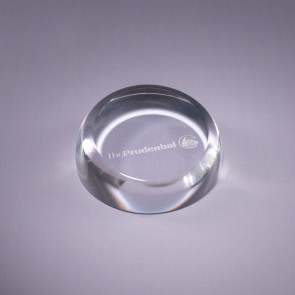 Insignia Lead Crystal Paperweight