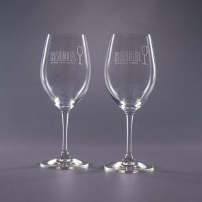 Riedel Engraved Red Wine Glasses- Traveler 19.75oz.