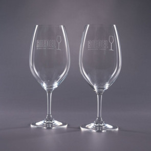 Riedel Engraved Cabernet Wine Glasses- Traveler 21.5oz.