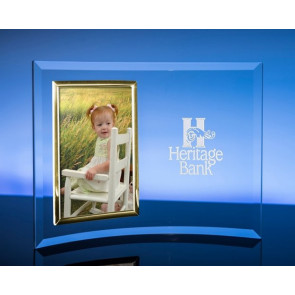 8in. X 10in. Vertical Picture Frame / Gold