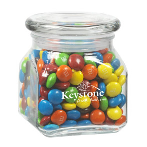 Contemporary Glass Jar - M&M's (10 oz.)