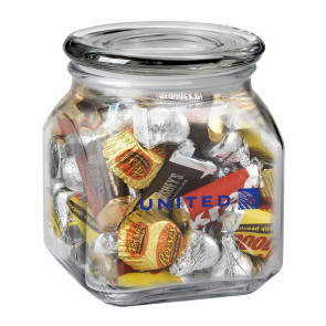 Contemporary Glass Jar - Hershey's