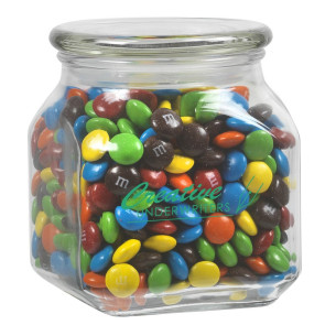 Contemporary Glass Jar - M&M's (20 oz.)