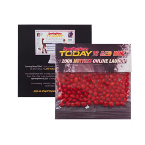 Red Hotsin Large Billboard Header Bag