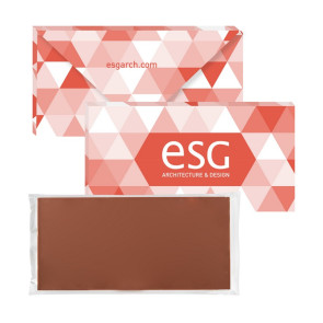 3.5 oz Executive Custom Chocolate Bar