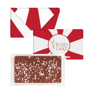 1 oz Executive Custom Chocolate Bar with Peppermint