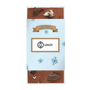 3.5 oz Custom Chocolate Bar with Oreos®