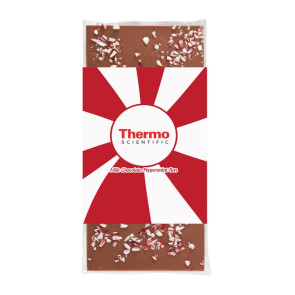 3.5 oz Custom Chocolate Bar with Peppermint