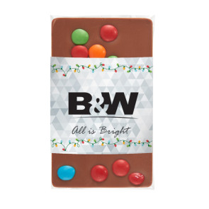 1 oz Custom Chocolate Bar with M&M'S®