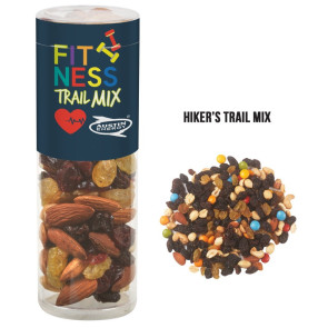 Healthy Snax Tube with Hiker's Trail Mix (Small)