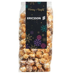Contemporary Popcorn Gift Bag - Midnite Snax Munch Popcorn