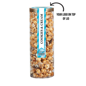 Executive Popcorn Tube - Cookies & Cream Popcorn