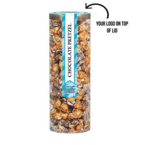 Executive Popcorn Tube - Chocolate Pretzel Popcorn