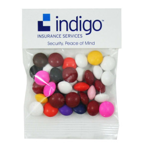 Chocolate Buttons in Header Bag (1 oz.)
