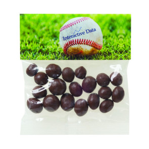 Chocolate Peanuts in Header Bag (2 oz.)
