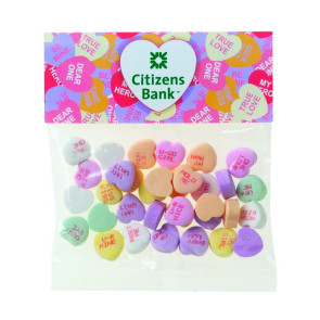 Conversation Heart in Header Bag (2 oz.)