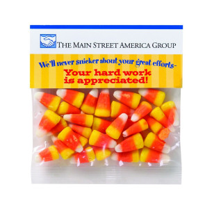 Haunted Header Bag with Candy Corn (2 oz)