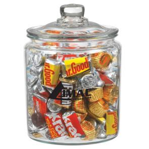 Half Gallon Glass Jar - Hershey's Everyday Mix