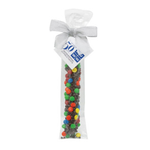 Milk Chocolate Covered Pretzel Rod - Chocolate Chips & Mini M&M's