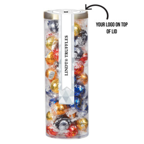 Golden Treat Tube - Lindt Truffles