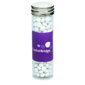 Large Tubes with Silver Cap - White Mints