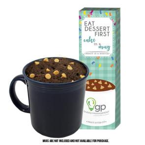 Mug Cake Gift Box - Peanut Butter Cup Cake