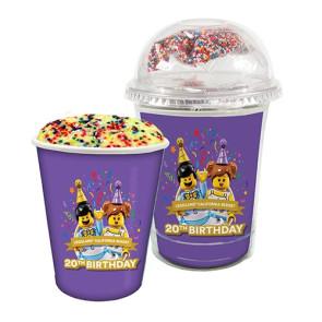 Mug Cake Snack Cup - Confetti Cake