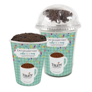 Mug Cake Snack Cup - Chocolate Lover's Cake