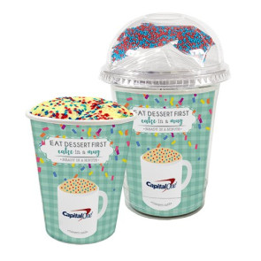 Mug Cake Snack Cup - Corporate Color Cake