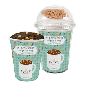 Mug Cake Snack Cup - Peanut Butter Cup Cake