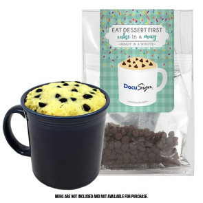 Mug Cake Tote Bag - Chocolate Chip Cake
