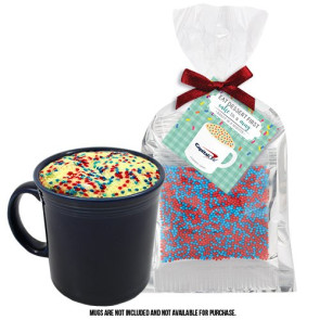 Mug Cake Mug Stuffer - Corporate Color Cake