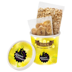 Oatmeal Kit with Dried Banana Chips
