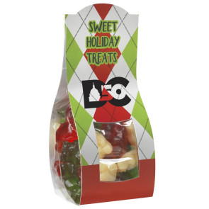 Candy Desk Drop with Holiday Gummy Bears (Small)