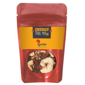 Resealable Pouch with Energy Trail Mix II