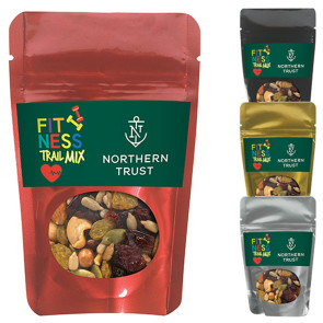Resealable Pouch with Fitness Trail Mix