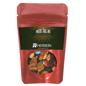 Resealable Pouch with Hiker's Trail Mix