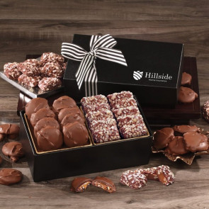 Chocolate Splendor with Pecan Turtles & English Butter Toffee