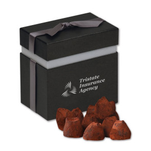Cocoa Dusted Truffles in Elegant Treats Gift Box