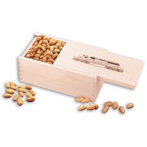 Choice Virginia Peanuts in Wooden Collector's Box