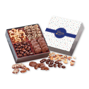 Gourmet Holiday Gift Box with Bubbles Sleeve