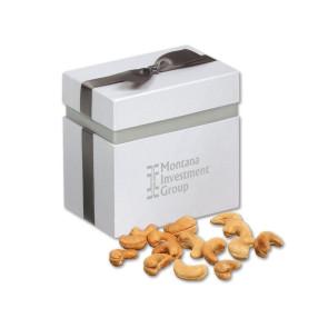 Extra Fancy Jumbo Cashews in Elegant Treats Gift Box